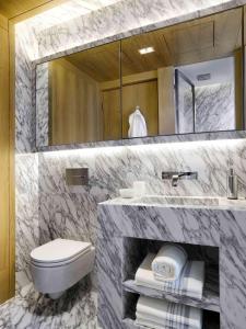 Een badkamer bij The Jervois