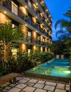 The swimming pool at or near Hotel Villa Amazônia