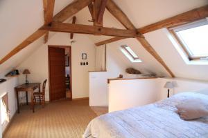 Un ou plusieurs lits dans un hébergement de l'établissement Maison St Mayeul