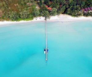 Blick auf Ko Kut Ao Phrao Beach Resort aus der Vogelperspektive