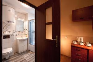 A bathroom at Station Aparthotel