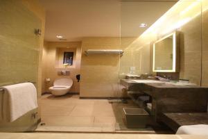 A bathroom at Holiday Inn New Delhi Mayur Vihar Noida, an IHG Hotel