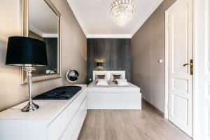 Telewizja i/lub zestaw kina domowego w obiekcie Apartament Milano Avanti