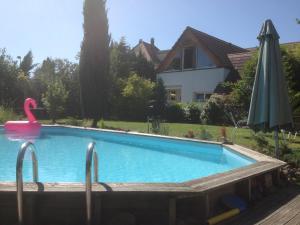 The swimming pool at or near Gite des 3 cigognes