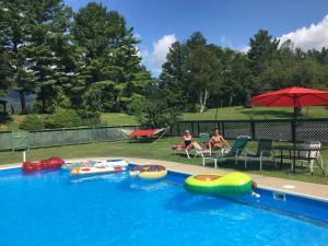 The swimming pool at or near Wilburton Inn