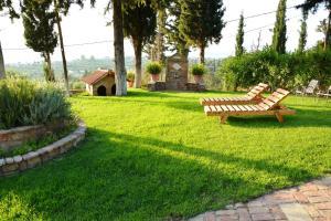 Κήπος έξω από το Sea View Villa with 4 bedrooms - grECOrama