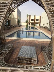 A piscina localizada em Braira Hettin Resort & Villas ou nos arredores