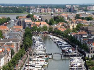 A bird's-eye view of Postillion Hotel Dordrecht