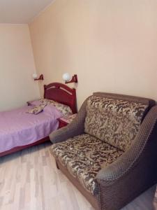 Кровать или кровати в номере Sever