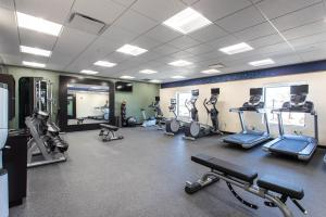 The fitness center and/or fitness facilities at Hampton Inn & Suites St. George