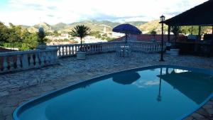 The swimming pool at or near Vale dos Baroes