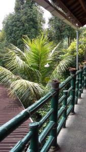 A balcony or terrace at Villa Dua Bintang