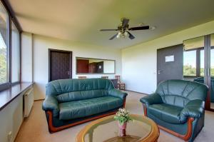 A seating area at Aerohotel