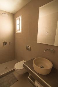 A bathroom at Avanti