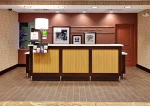 The lobby or reception area at Hampton Inn Seneca Falls