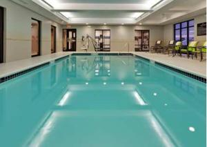 The swimming pool at or near Hampton Inn Seneca Falls
