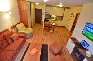 Posedenie v ubytovaní Apartmán KLAUDIA Tále