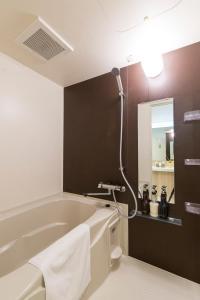 A bathroom at Hotel Fukuracia Harumi