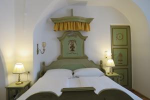 Кровать или кровати в номере Hotel Wilder Mann