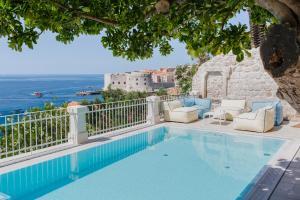 The swimming pool at or close to Villa Beba Dubrovnik - luxury boutique villa in the city centre