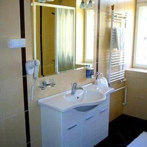 Kupatilo u objektu Hotel Leotar