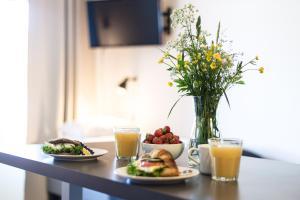 Možnosti snídaně pro hosty v ubytování Spot Apartments Uusmäki
