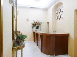 El vestíbulo o zona de recepción de Hotel Rio Athens