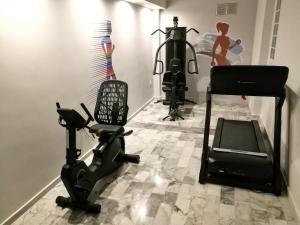Γυμναστήριο ή/και όργανα γυμναστικής στο Ξενοδοχείο Ερατώ