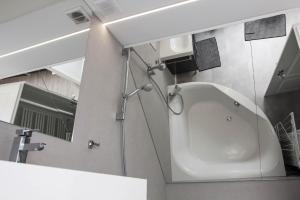 Łazienka w obiekcie Apartament MnW