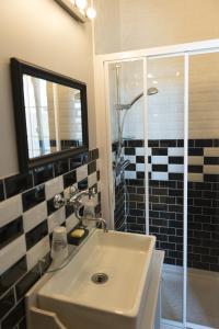 Salle de bains dans l'établissement Comme à la Breizhon