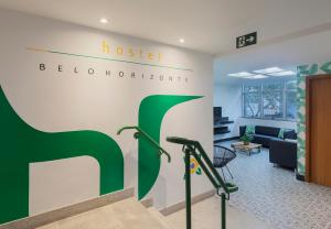 The fitness center and/or fitness facilities at Br Hostel