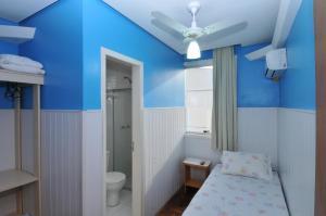 Um banheiro em Hotel Ivo De Conto
