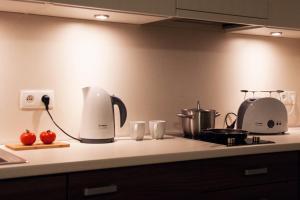 Kuchnia lub aneks kuchenny w obiekcie Sun Marine