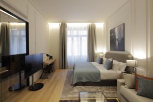 TV o dispositivi per l'intrattenimento presso BoHo Prague Hotel - Small Luxury Hotels