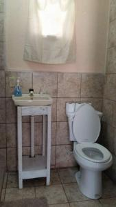 A bathroom at Go Slow Guesthouse