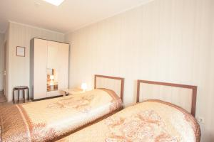 A bed or beds in a room at Maria
