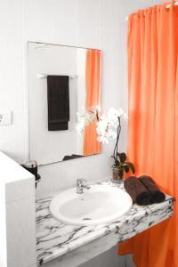 Een badkamer bij Apartamentos Sol