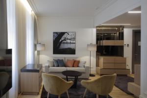 Coin salon dans l'établissement BoHo Prague Hotel - Small Luxury Hotels