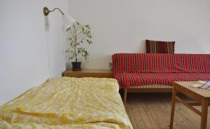 Posteľ alebo postele v izbe v ubytovaní Pod horou