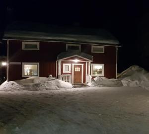 Kallaxgårdshotel/apartment, Luleå during the winter