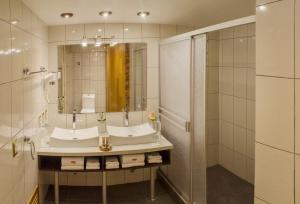 Salle de bains dans l'établissement Hotel Taypikala Machupicchu