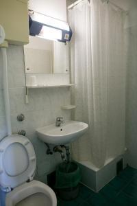 A bathroom at Hostel Spinut