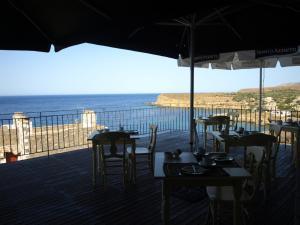 Εστιατόριο ή άλλο μέρος για φαγητό στο Porto Mani Suites