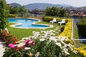 Vista de la piscina de Hotel Avenida o alrededores
