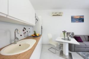 A bathroom at Apartment Lant