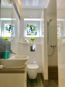 A bathroom at InHome Sopot 2