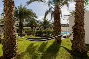 Een tuin van Hotel Dunas de Sal
