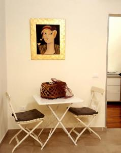 A seating area at Artistic Charming House
