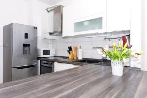 A kitchen or kitchenette at Cvit Jadrana