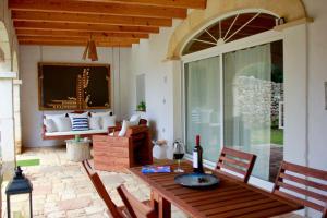 A seating area at Habitaciones Casa de Campo Daymipaz